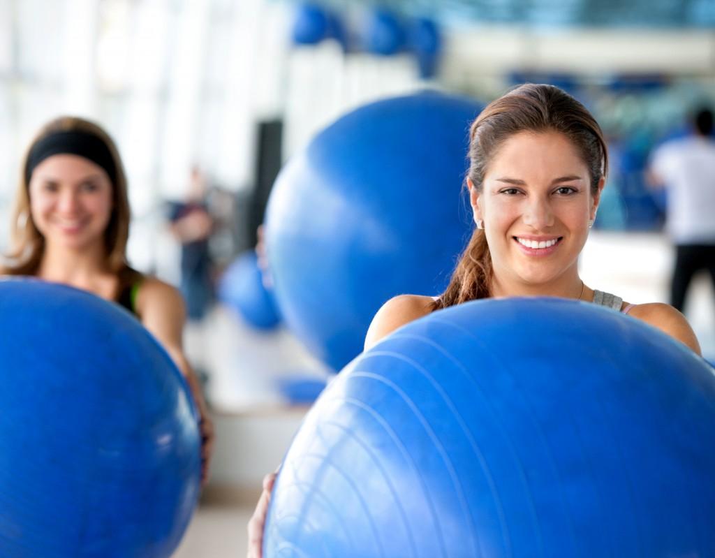 Pilates ve Aerobic �al��malar�m�z Ba�lad�