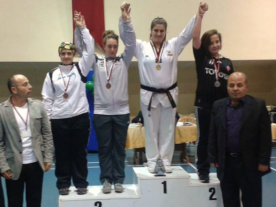 Sporcumuz Türkiye Şampiyonu